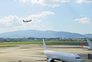 空港の風景