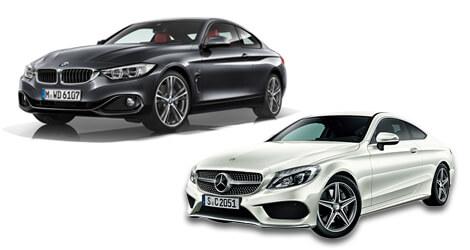 BMW 3シリーズ/ベンツCクラス